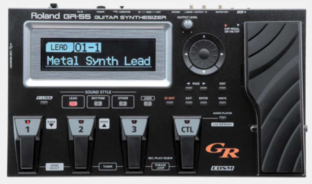 GR-55 For Home Studio