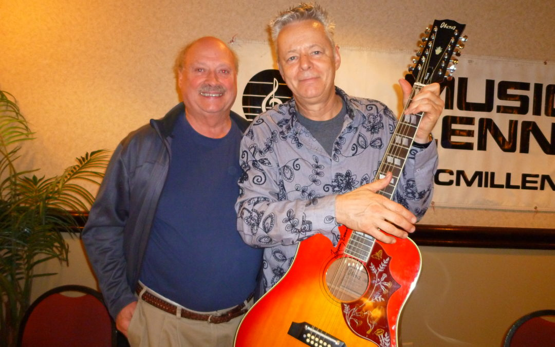 Tommy Emmanuel and his Maton Guitar