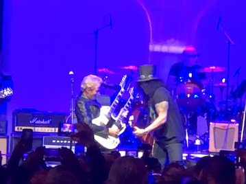 "OGSR Covers Felder – Slash Playing ""Hotel California"" @ Gibson NAMM Party"