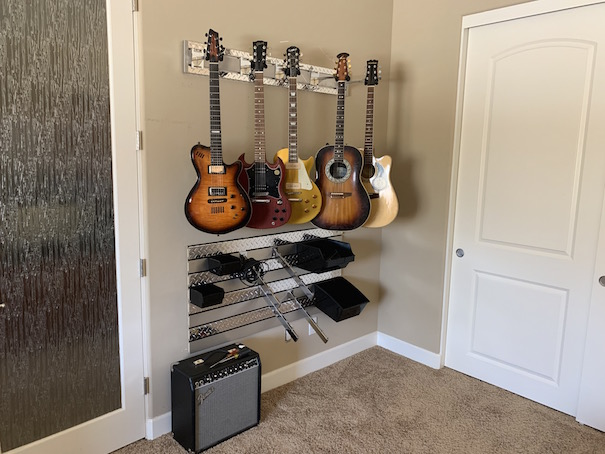 Installing a Guitar Wall