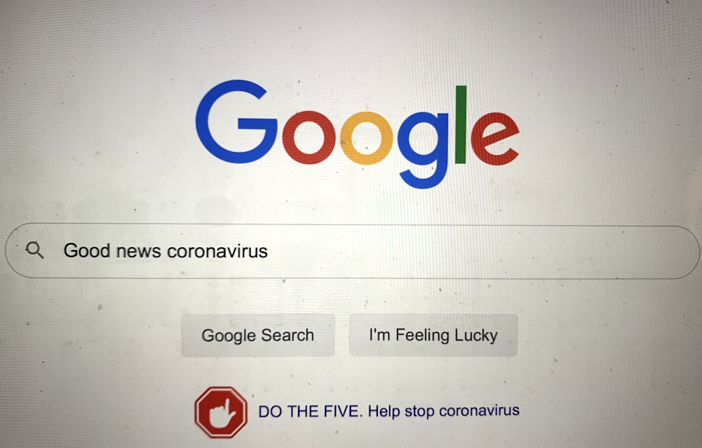 Searching for Good News During the Coronavirus Lockdown